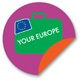 logo your europe purple en